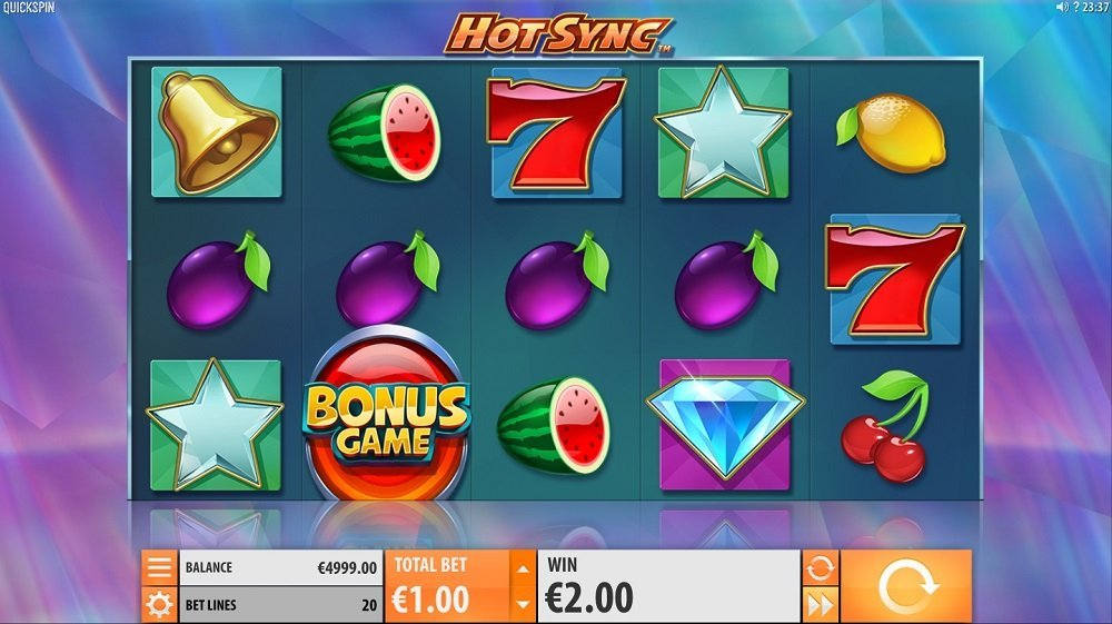 Hot Sync Slot Review