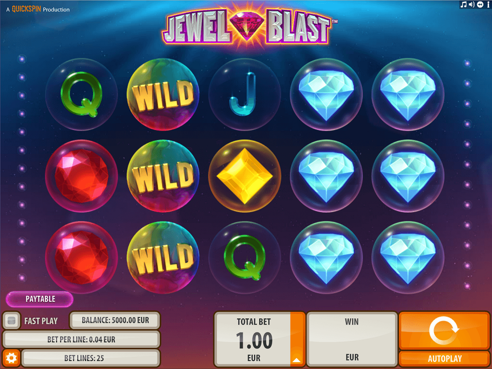 Jewel Blast Slot Review