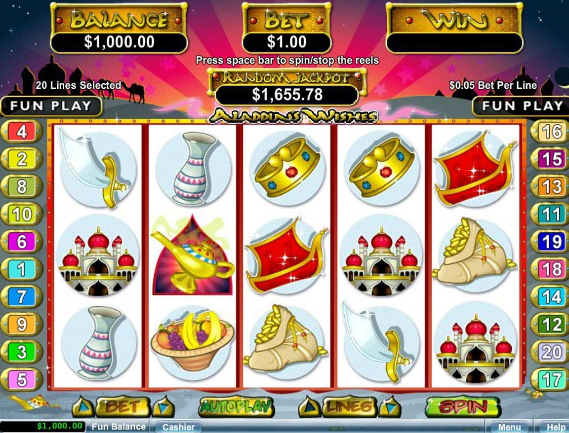 Aladdins Wishes Slot Review
