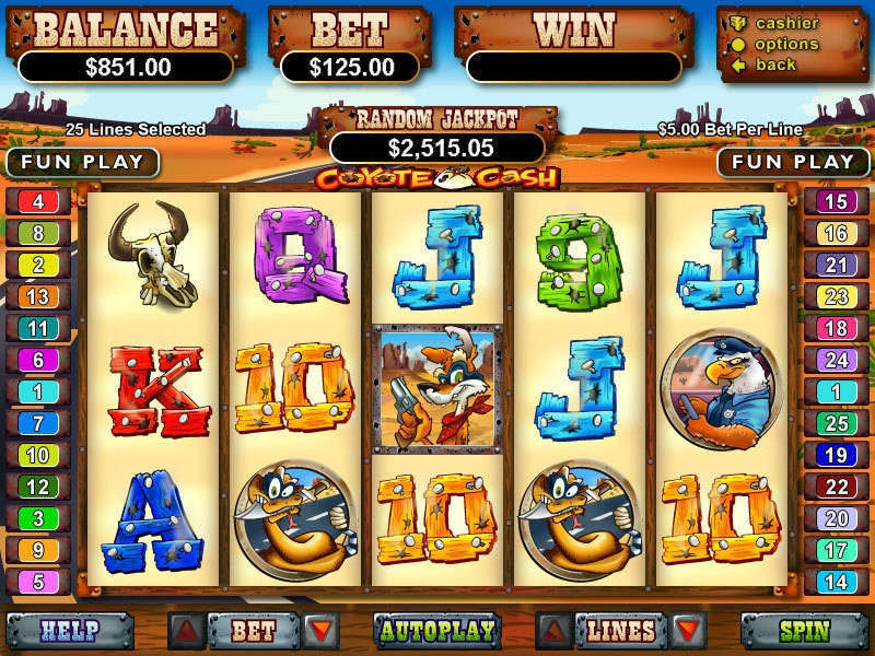 Coyote Cash Slot Review