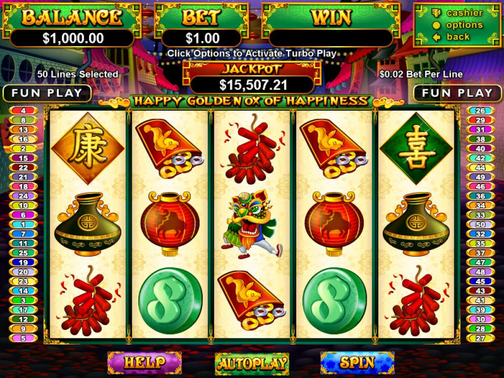 Happy Golden Ox Of Happiness Slot Review