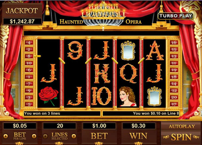 Haunted Opera Slot Review