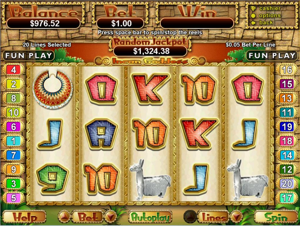 Incan Goddess Slot Review