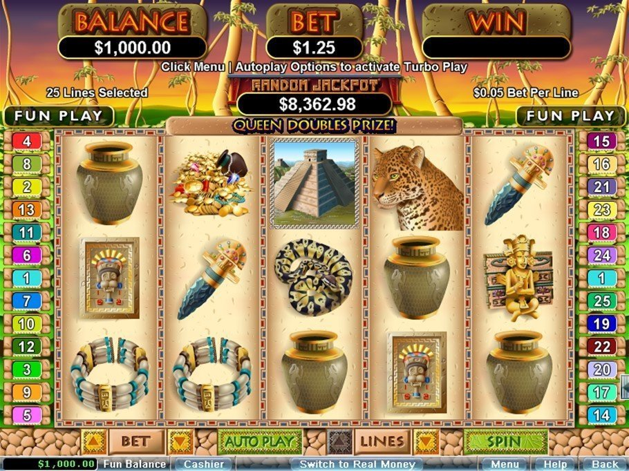 Mayan Queen Slot Review