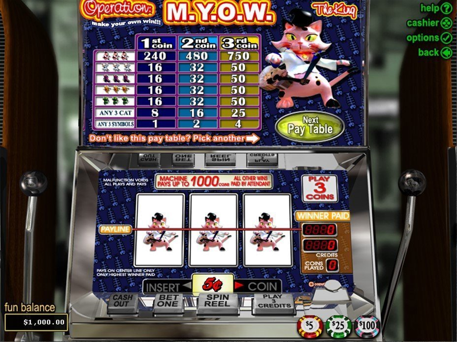 Operation M Y O W Slot Review