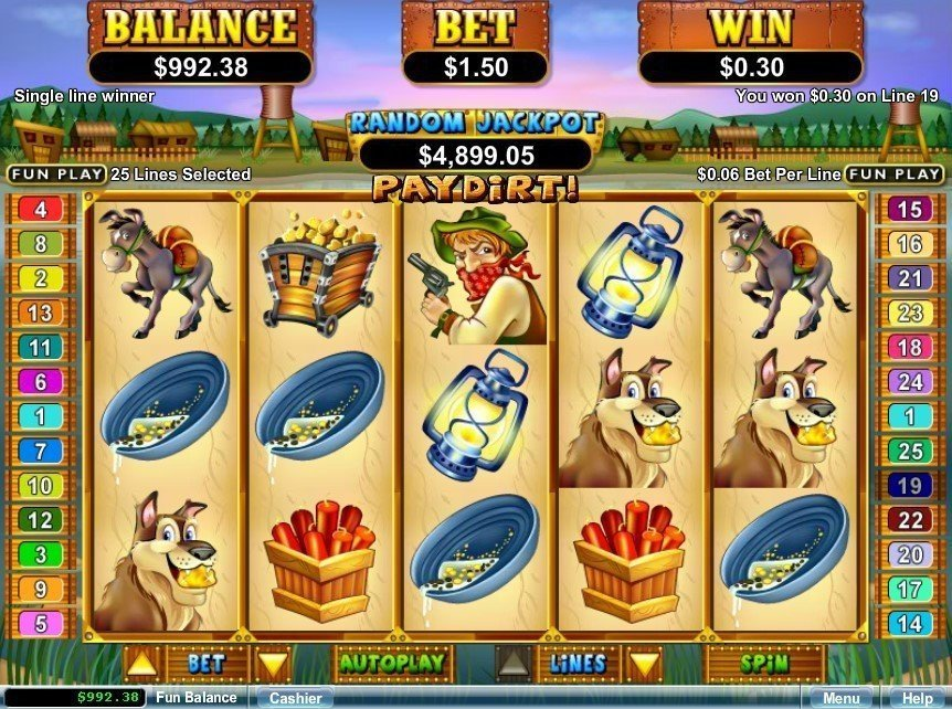 Paydirt Slot Review
