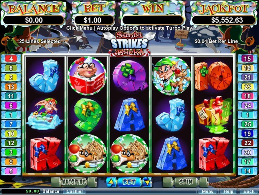 Santa Strikes Back Slot Review