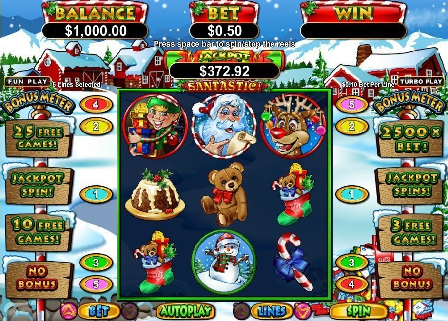 Santastic Slot Review