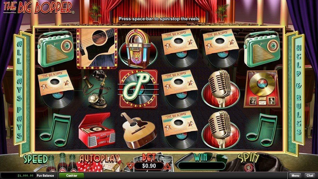 The Big Bopper Slot Review