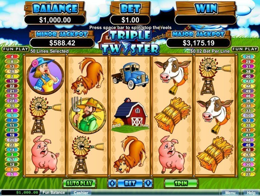 Triple Twister Slot Review