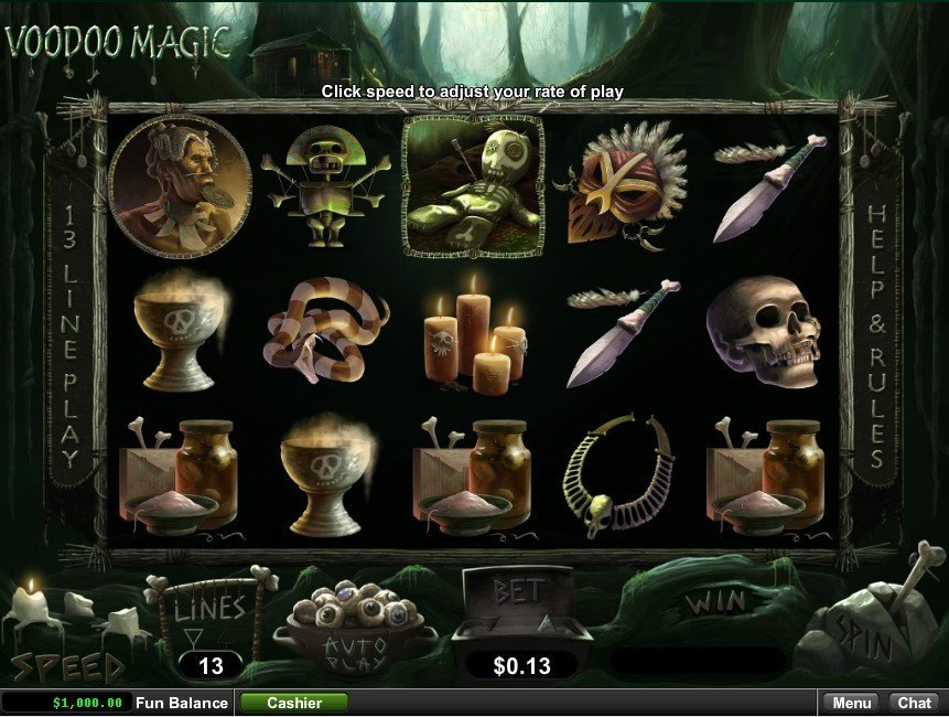 Voodoo Magic Slot Review