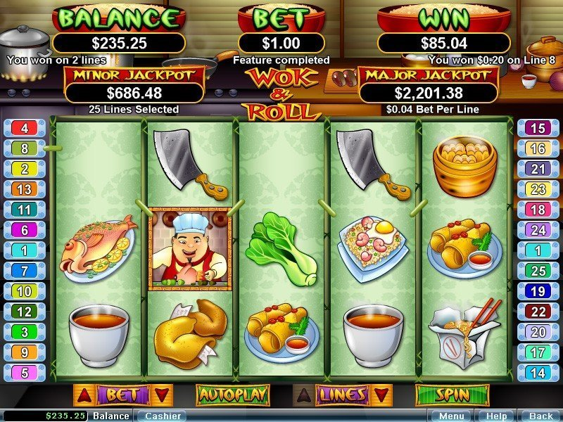 Wok Roll Slot Review