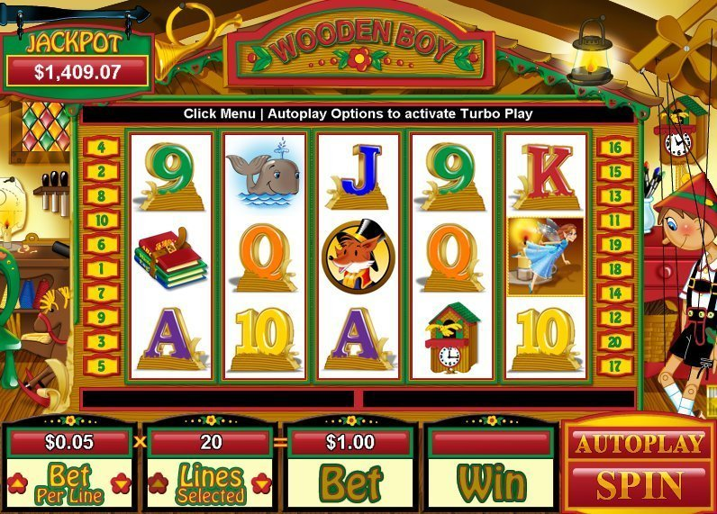 Wooden Boy Slot Review