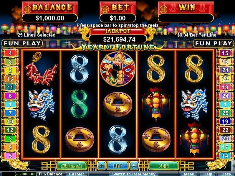 Year Of Fortune Slot Review