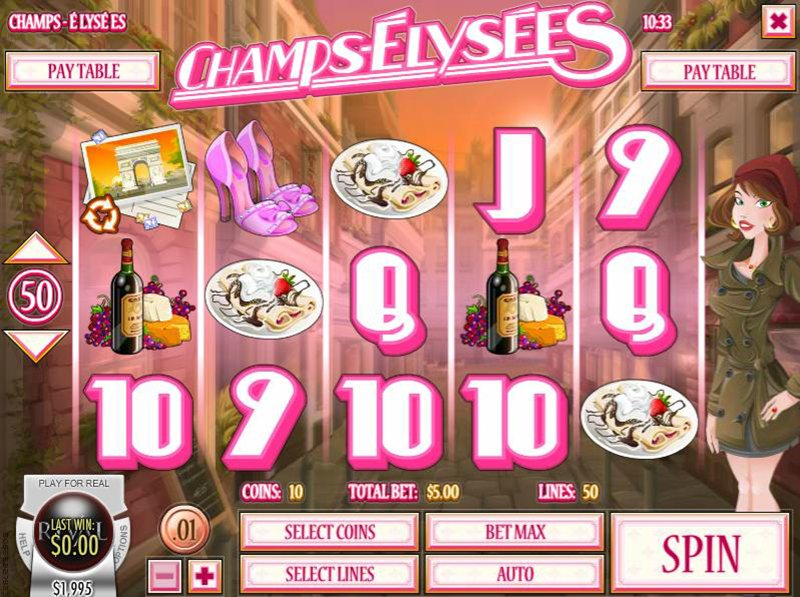 Champs Elysees Slot Review