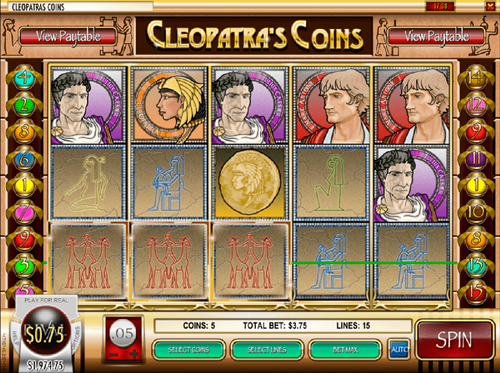 Cleopatras Coins Slot Review