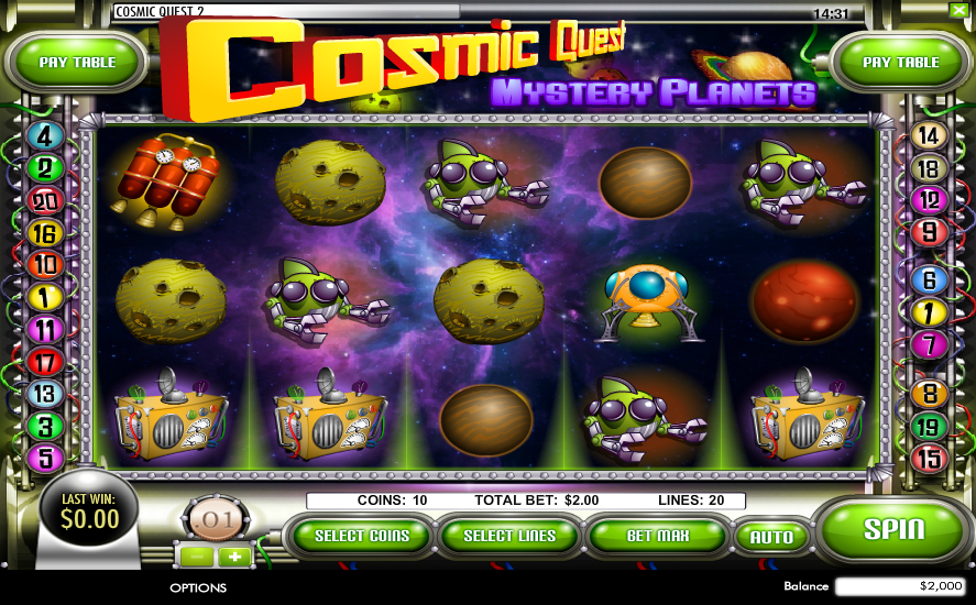 Cosmic Quest Mystery Planets Slot Review