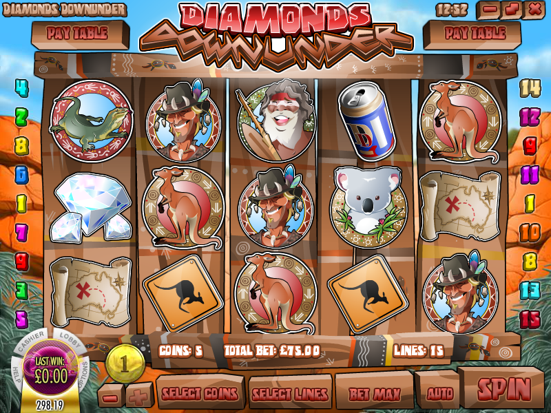 Diamonds Downunder Slot Review