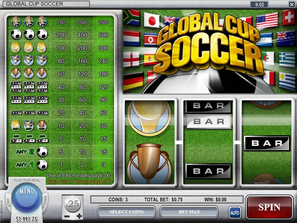 Global Cup Soccer Slot Review