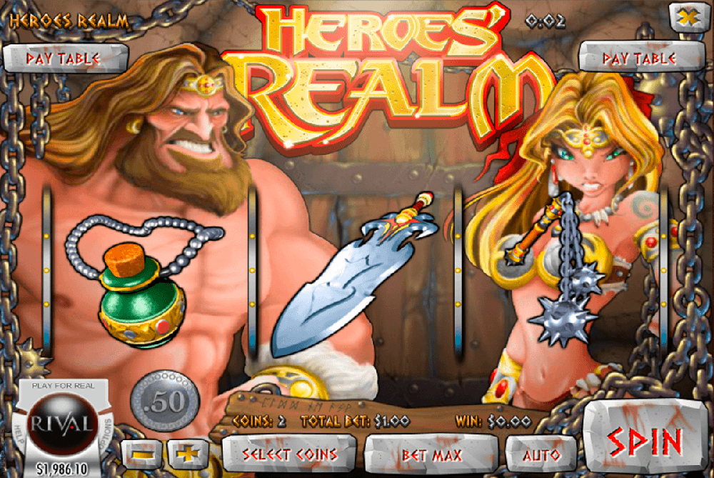 Heroes Realm Slot Review