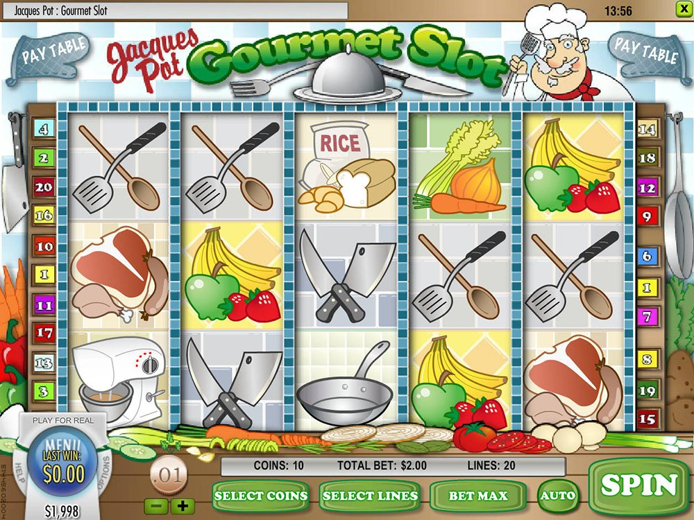 Jacques Pot Gourmet Slot Review