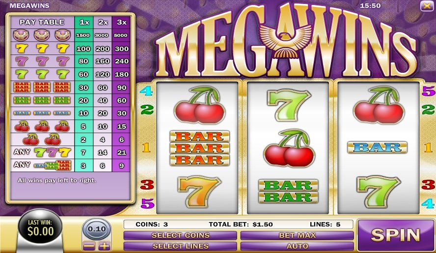 Megawins Slot Review