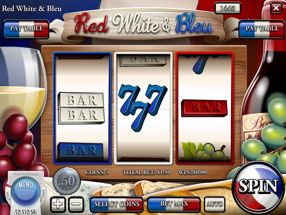 Red White And Bleu Slot Review