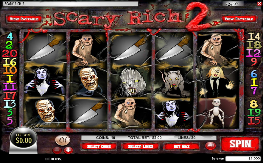 Scary Rich 2 Slot Review