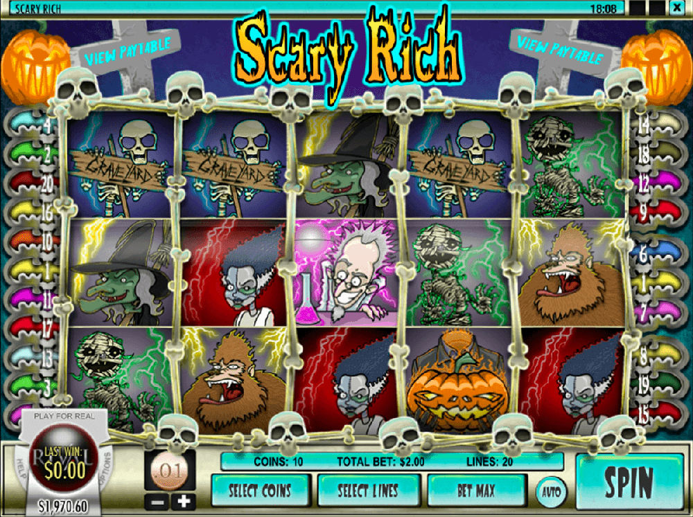 Scary Rich Slot Review