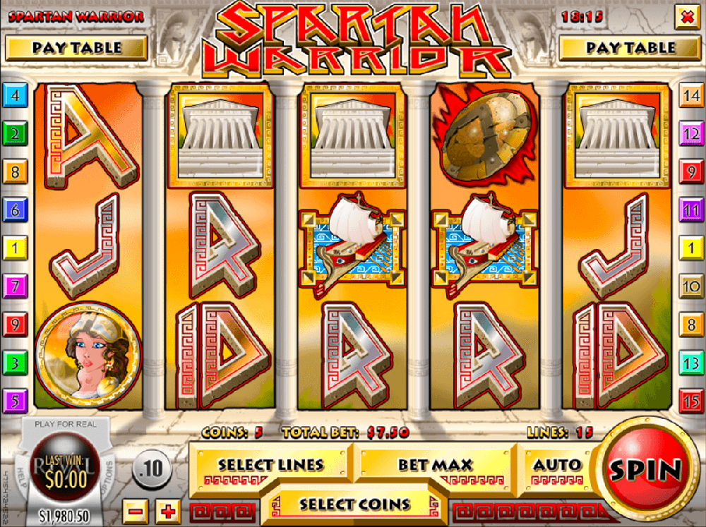 Spartan Warrior Slot Review