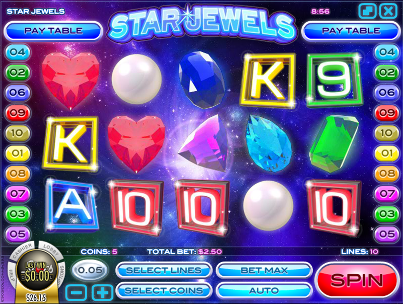 Star Jewels Slot Review