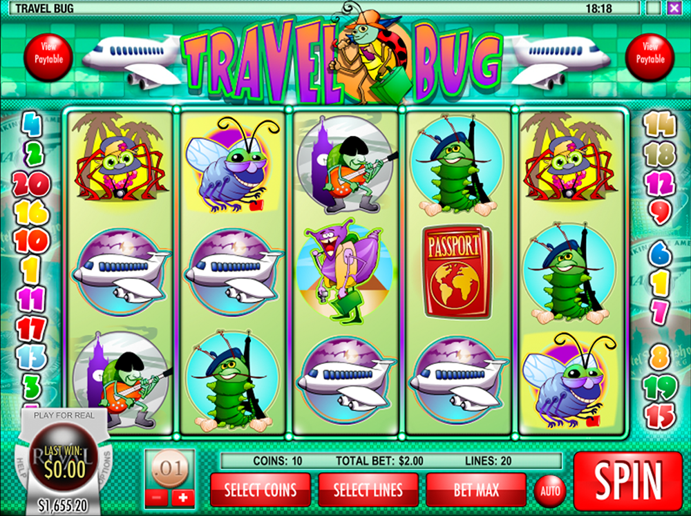 Travel Bug Slot Review