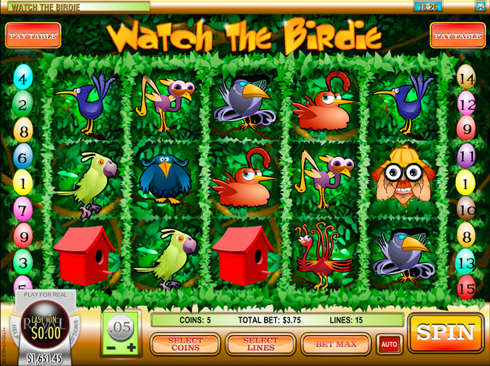 Watch The Birdie Slot Review