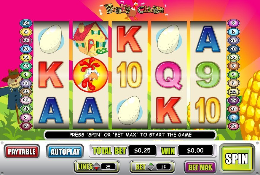 Funky Chicken Slot Review