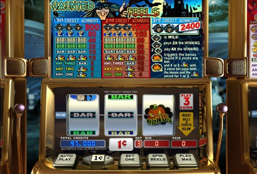 Haunted Reels Slot Review