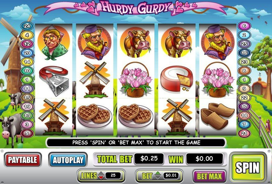 Hurdy Gurdy Slot Review