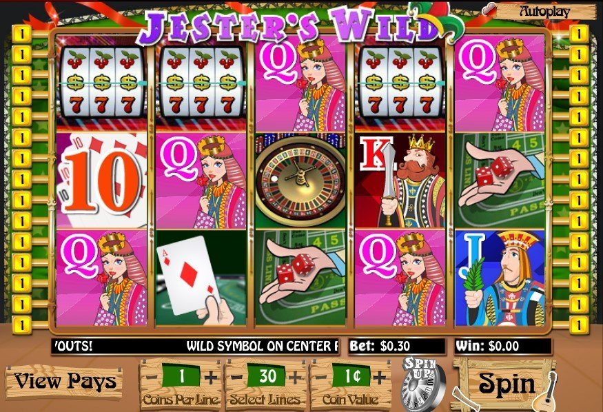 Jesters Wild Slot Review