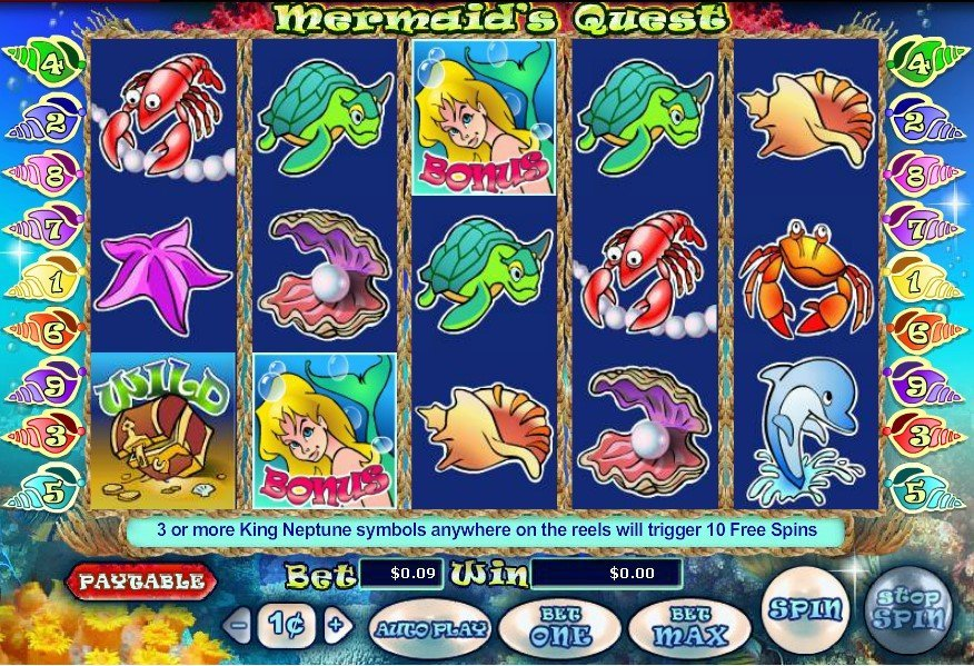 Mermaids Quest Slot Review
