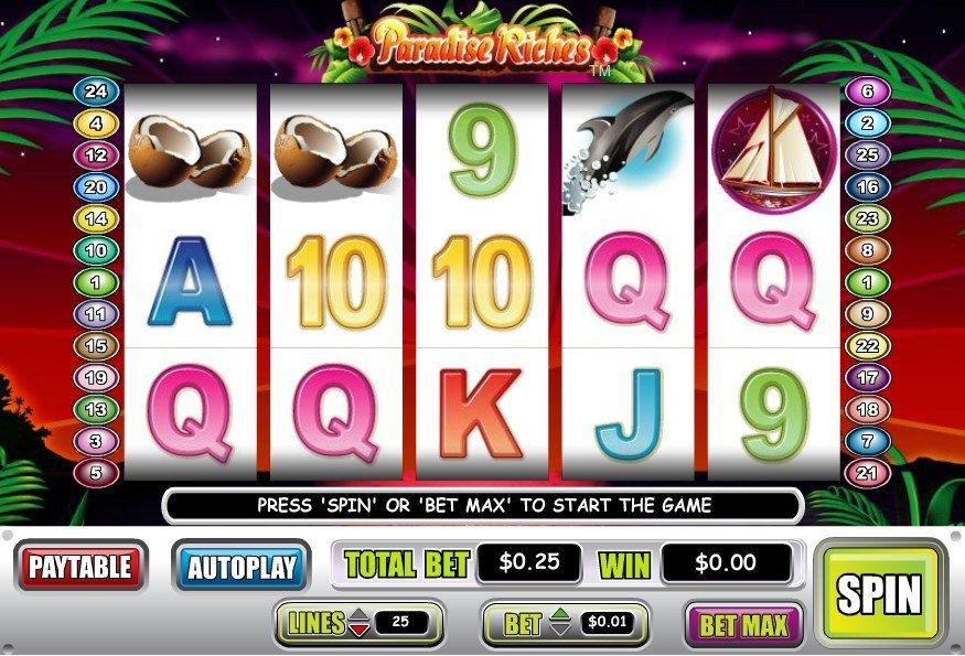 Paradise Riches Slot Review