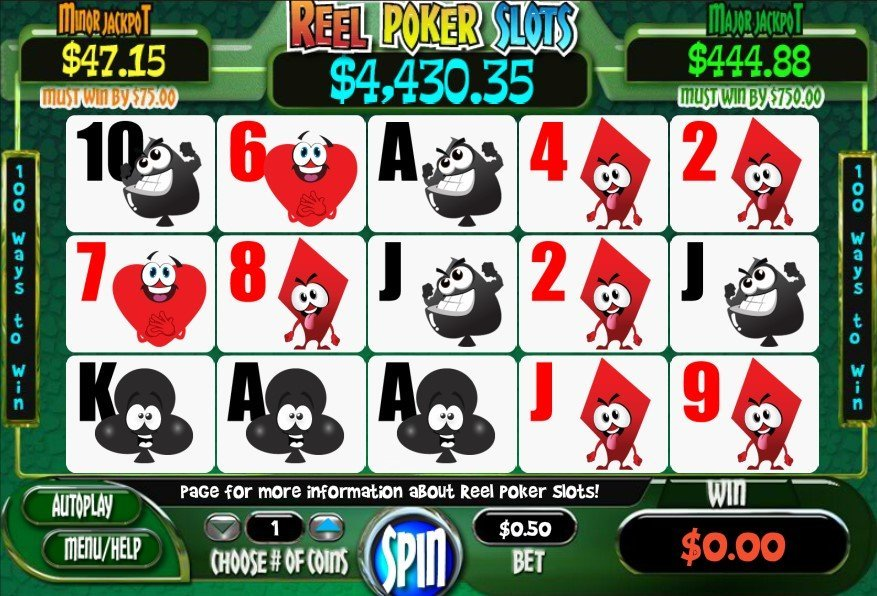 Reel Poker Slots Slot Review