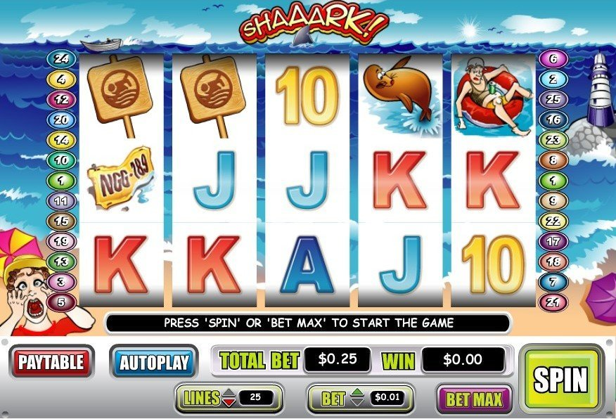 Shaaark Slot Review