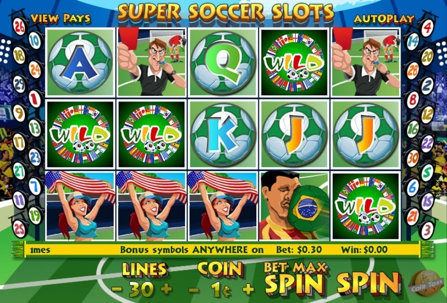 Super Soccer Slot Review