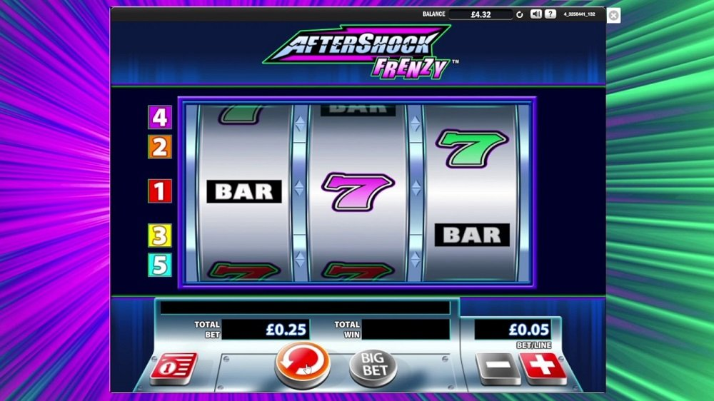 Aftershock Frenzy Slot Review