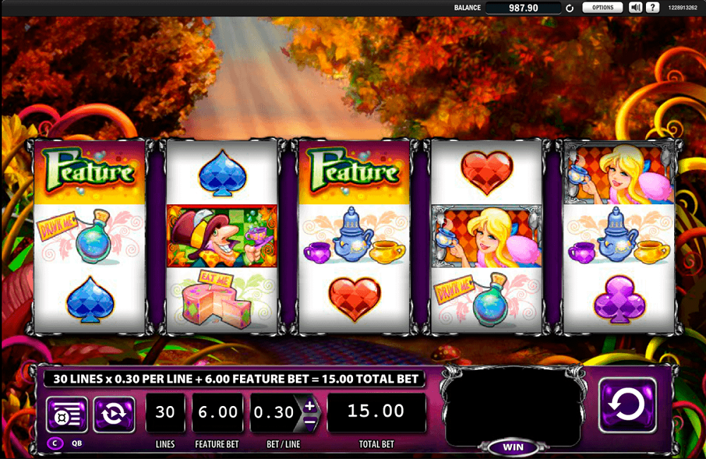 Alice And The Mad Party Slot Review