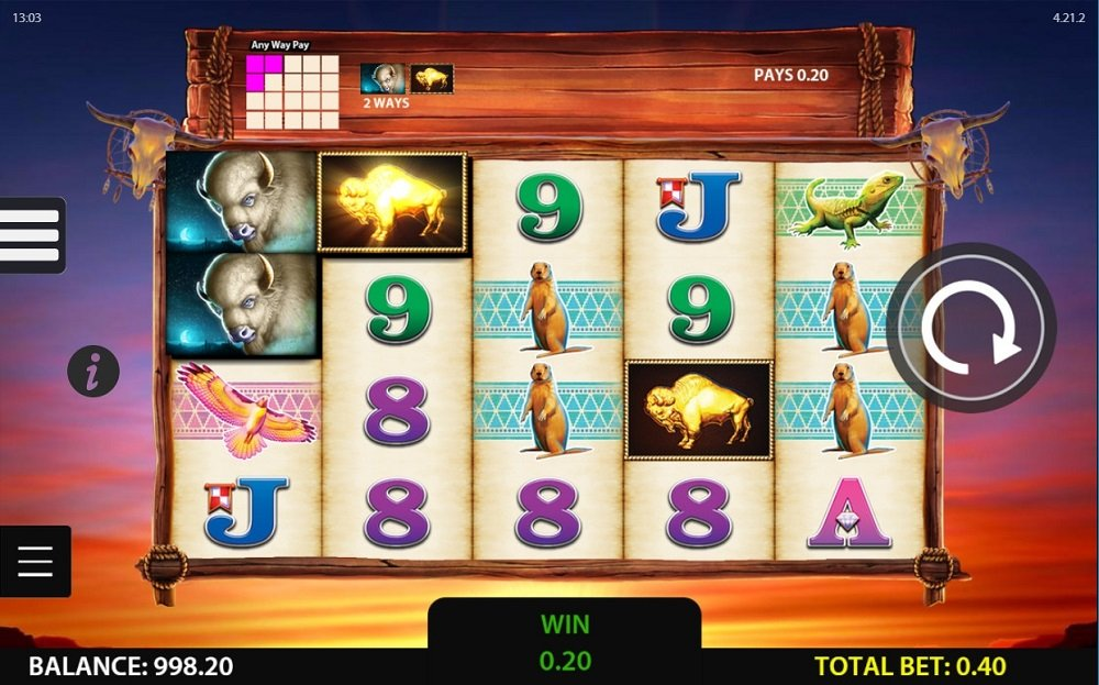 Double Buffalo Spirit Slot Review