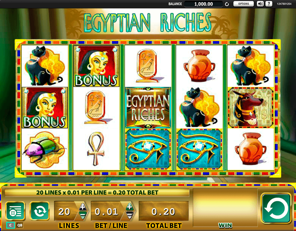 Egyptian Riches Slot Review
