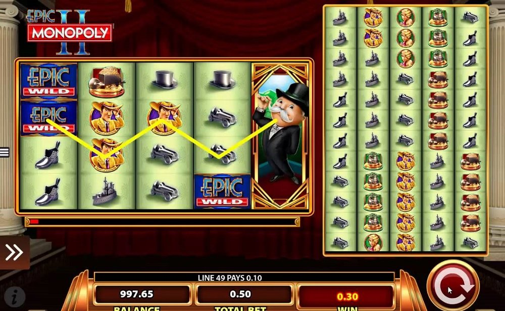 Epic Monopoly Ii Slot Review