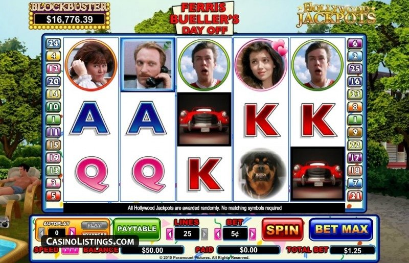 Ferris Buellers Day Off Slot Review
