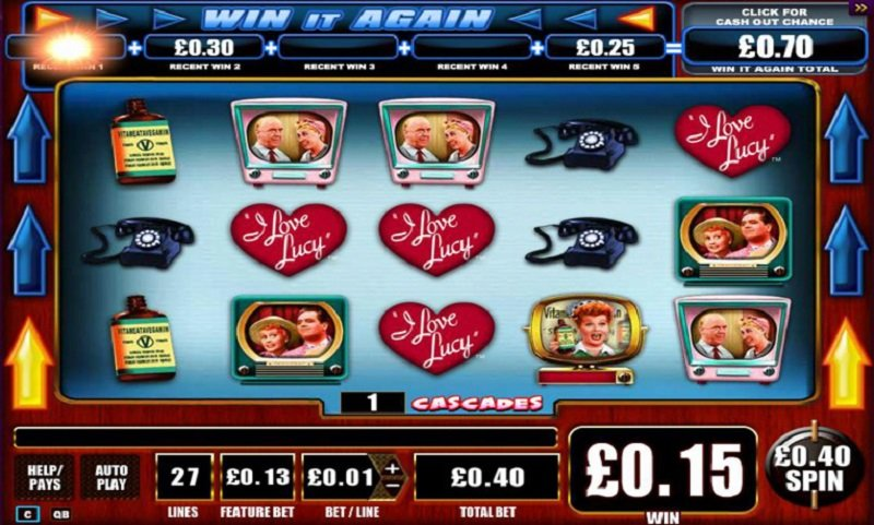 I Love Lucy Slot Review