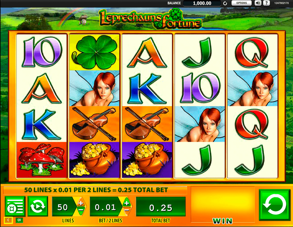 Leprechauns Fortune Slot Review